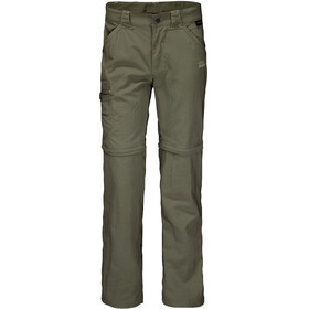 Jack Wolfskin Safari Zip Off Pants Kids woodland green
